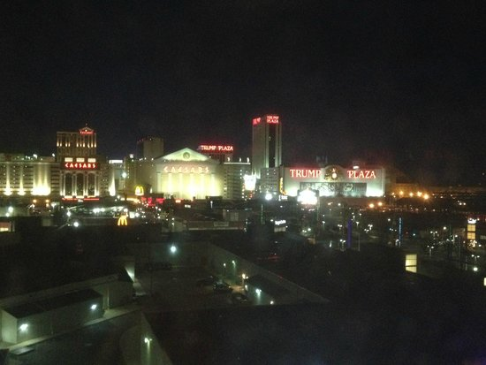 Sheraton Atlantic City Convention Center Hotel: The view from our hotel room