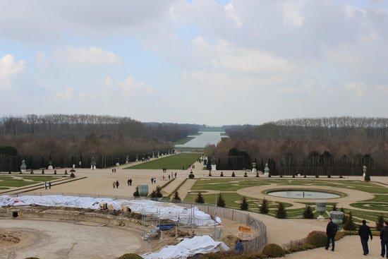 Grand Canal: Gran Canal desde El Palacio de Versalles