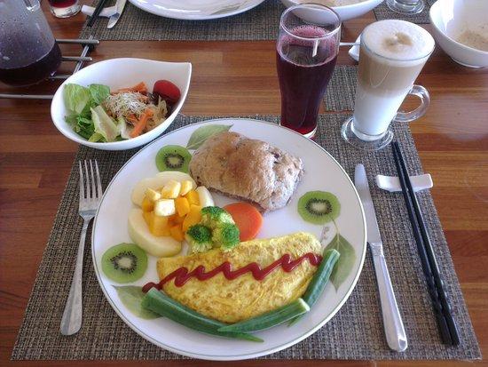 David SamStrong Villa: 老闆親自準備誠意十足的早餐