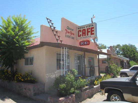 Mesa Vista Cafe: roadside cafe