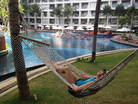 The Stones Hotel - Legian Bali, Autograph Collection: My wife loves the hammock