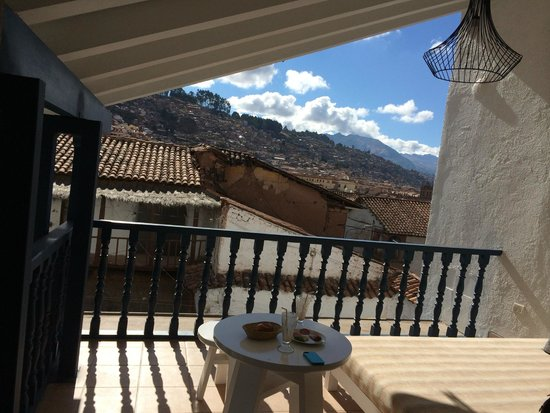 El Mercado Tunqui: Daybed on the 4th floor with a view