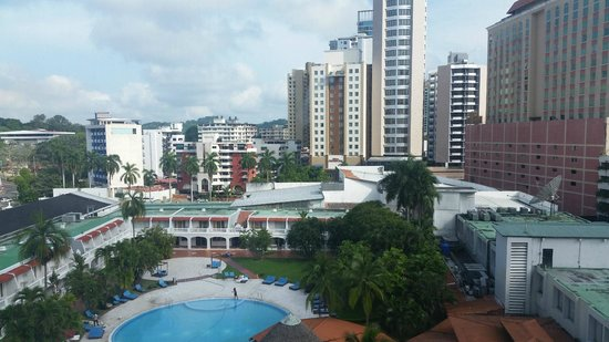 Hotel El Panama: View from my room.  Simply BREATHTAKING