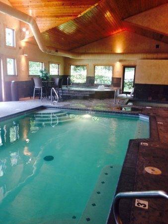 Village At Indian Point : Indoor pool with hot tub