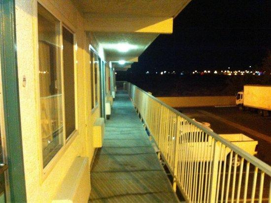 Motel 6 Lancaster: Vista secondo piano