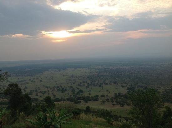 Twin Lakes Safari Lodge: view from our room