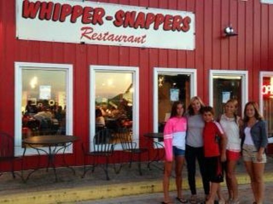 Whipper Snappers: crab legs good