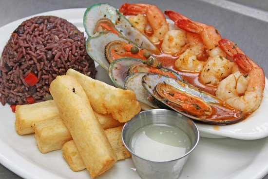 Rumba Cuban Cafe Seafood Varadero With Moros And Fried Yuca Best Restaurant In Naples