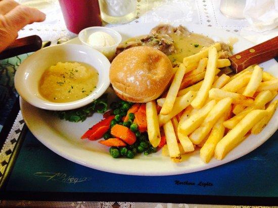 Caribou Family Restaurant : Roast Pork