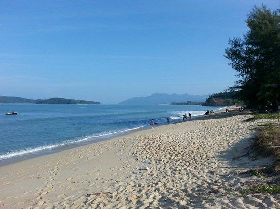 Tengah Beach: Superbe plage