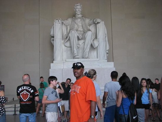 Lincoln Memorial und Reflexionsbecken: Lincoln memorial