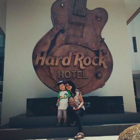 Hard Rock Hotel Penang: excited on our arrival