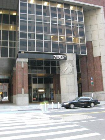 Andaz Wall Street: Eingang