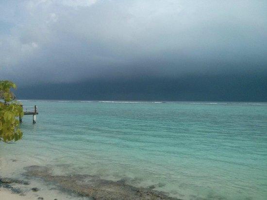 Palm Beach Resort & Spa Maldives: вид из Junior Suite Sunrise Side