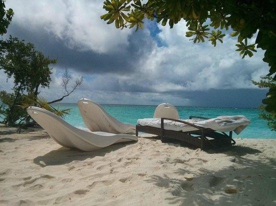 Palm Beach Resort & Spa Maldives: вид из Presidential suite