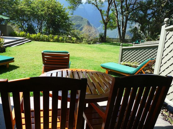 Belmond Sanctuary Lodge : hotel room terrace