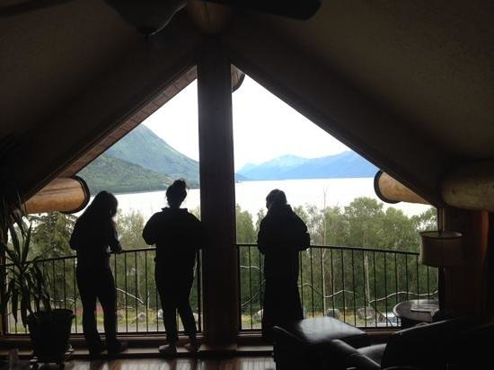 Turnagain View Lodge : View from the Scissors Suite