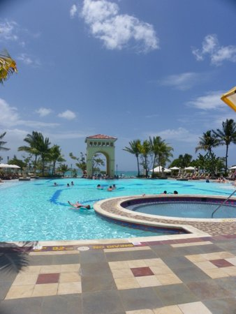 Sandals Whitehouse: Main pool