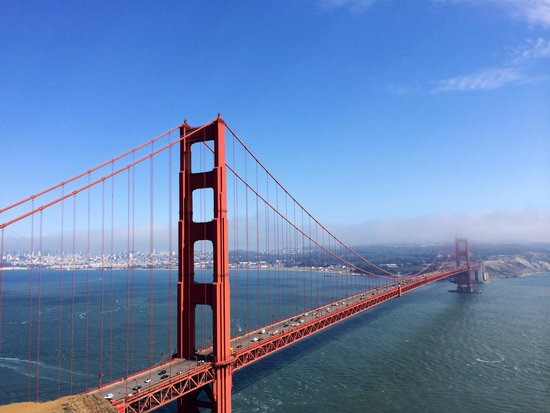 Extranomical Tours : View of Golden Gate Bridge during our tour