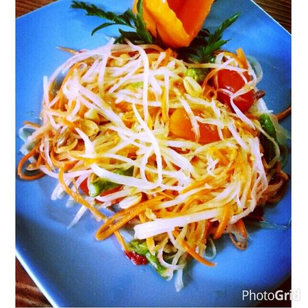 Somtum_Papaya Salad@Mango tree Restaurant & Bar, Koh Samui
