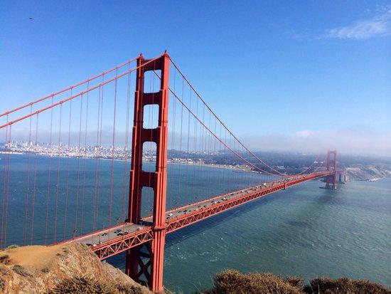 Marin Headlands: Golden Gate Bridge