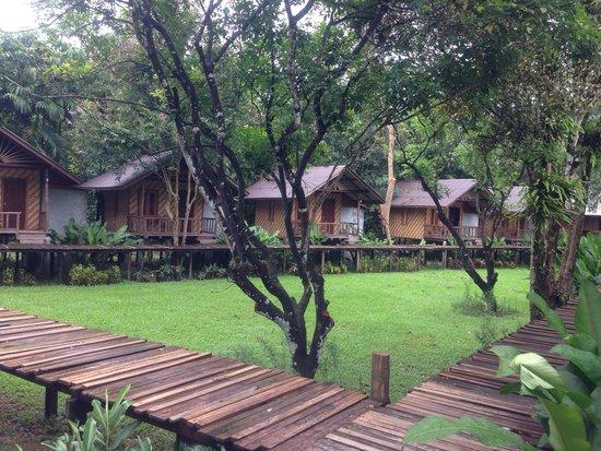 Khao Sok Cabana Resort: Bungalow