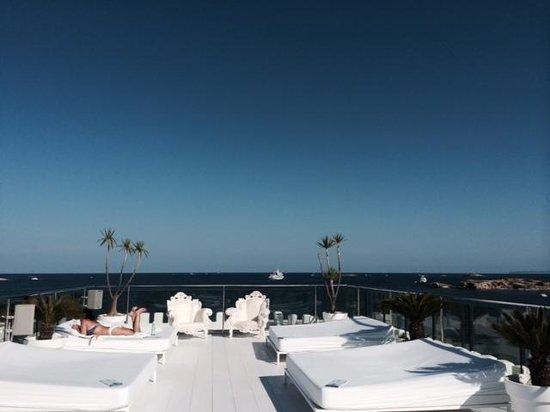 Hotel Es Vive: 屋上からの景色