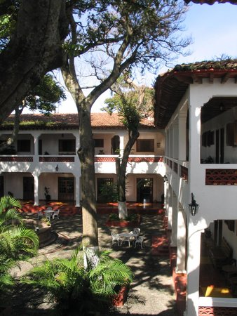 Jiquilpan de Juarez, Mexiko: Patio del Hotel Palmira