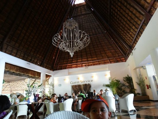 Sandos Caracol Eco Resort : Lobby