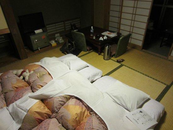 Shimaya Ryokan: Inside room