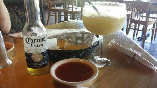 Patron: Corona.. meet my margarita!