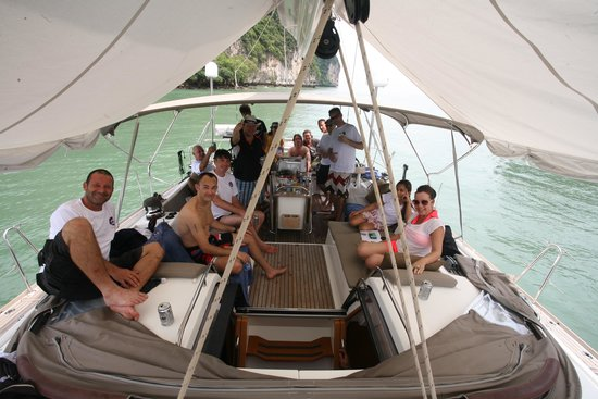 PinkShrimp Yachting: 17 very happy guests