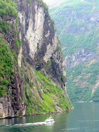 Geiranger Fjord : Fjord de Geiranger