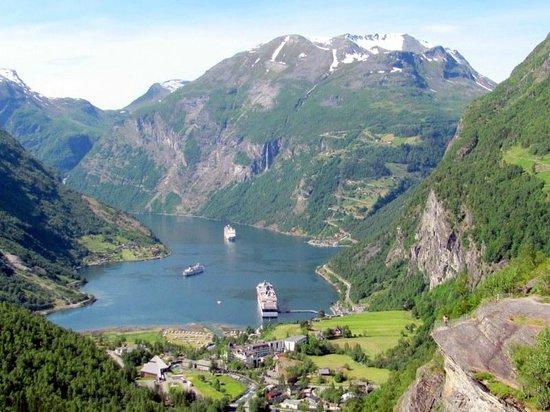 Geiranger Fjord : Geiranger-Fjord