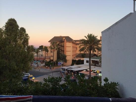 Iberostar Ciudad Blanca: View from our balcony