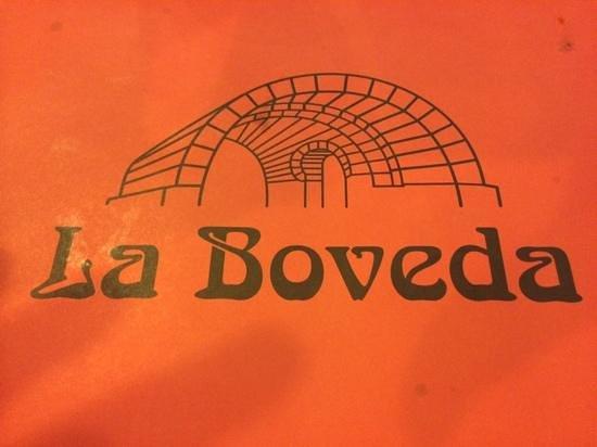 Restaurante La Bóveda: La Boveda