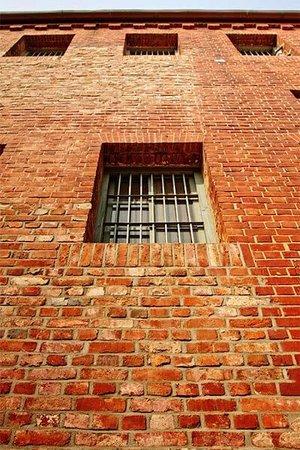 Seodaemun Prison History Hall: Окно в тюремное стене