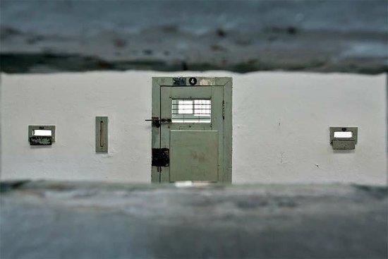 Seodaemun Prison History Hall: Вид из тюремной камеры