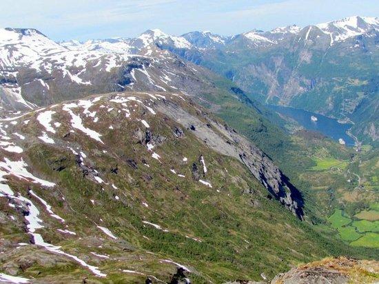 Geiranger Skywalk - Dalsnibba : Fjord de Geiranger