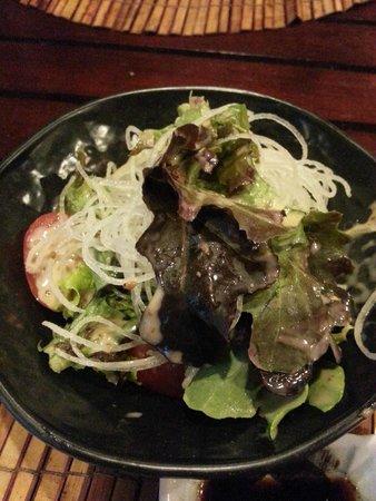 ENZO, Bistro Fusion Japanese: Organic salad
