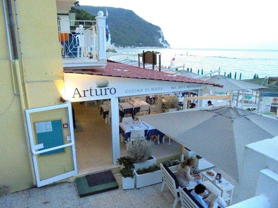 Ristorante Arturo Cucina di Mare : Fachada restaurante
