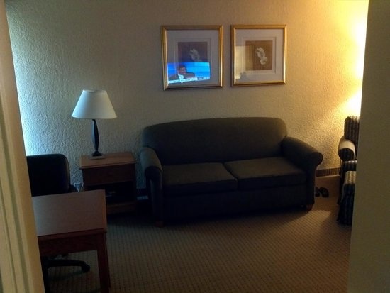 Holiday Inn Long Beach Airport Hotel: Living room