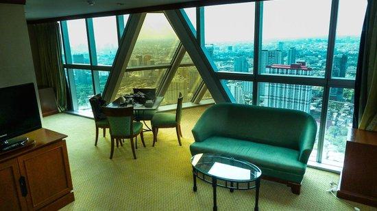 Baiyoke Sky Hotel: 57 этаж