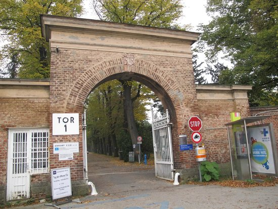 Central Cemetery (Zentralfriedhof): Entrance of the cemetery