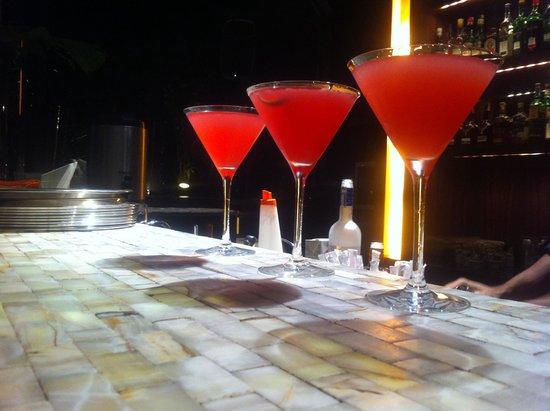 Tivoli Mofarrej - Sao Paulo: Grey Goose Cosmos at hotel bar. Delicious!