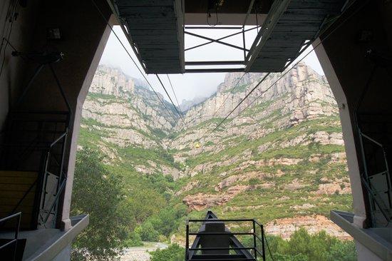 Aeri de Montserrat: На нижней станции