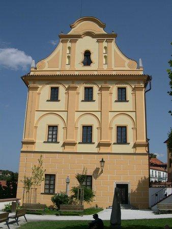 Regional Museum in Cesky Krumlov: Barokní štít