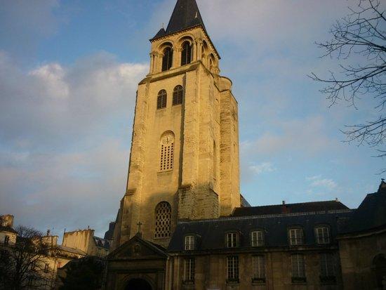Quartier Saint-Germain-des-Prés : Iglesia de Saint-Germain-des-Pres.