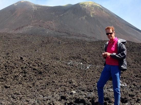 Etna Experience Excursions: daar sta je dan! een illusie armer