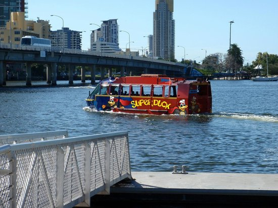 Superduck Adventure Tours: Superduck on the water